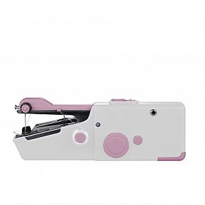 Pocket size handheld sewing machine, AC/DC operations available
